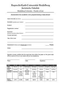 dissertation themen jus